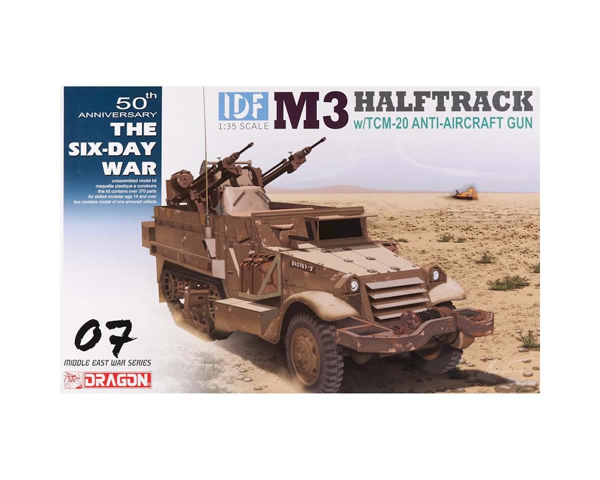 Dragon Models 3586 1/35 IDF M3 Halftrack w/TCM-20 Anti-Aircraft Gun