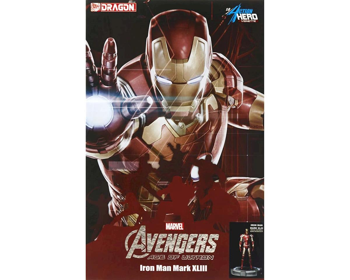 Dragon Models 38155 1/9 Age Of Ultron Iron Man w/Tony Stark Head