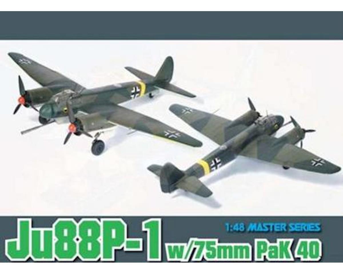Dragon Models 5543 1/48 Ju88P-1 w/75mm Pak 40 Tank Buster ...