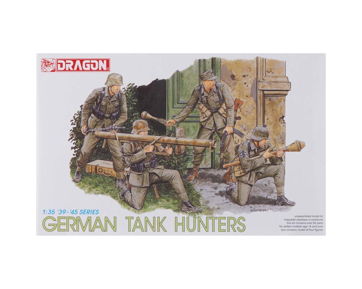 6034 1/35 German Tank Hunters (4 Figures Set) by Dragon Models