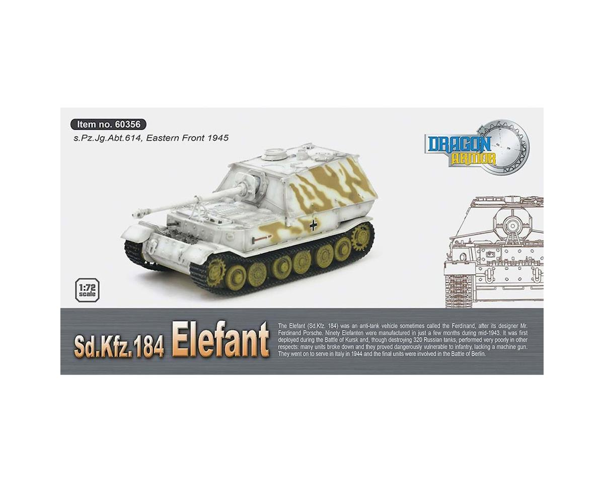 Dragon Models 60356 1/72 Sd.Kfz.184 Elefant s.Pz.Jg.Abt.614 Polnd '44
