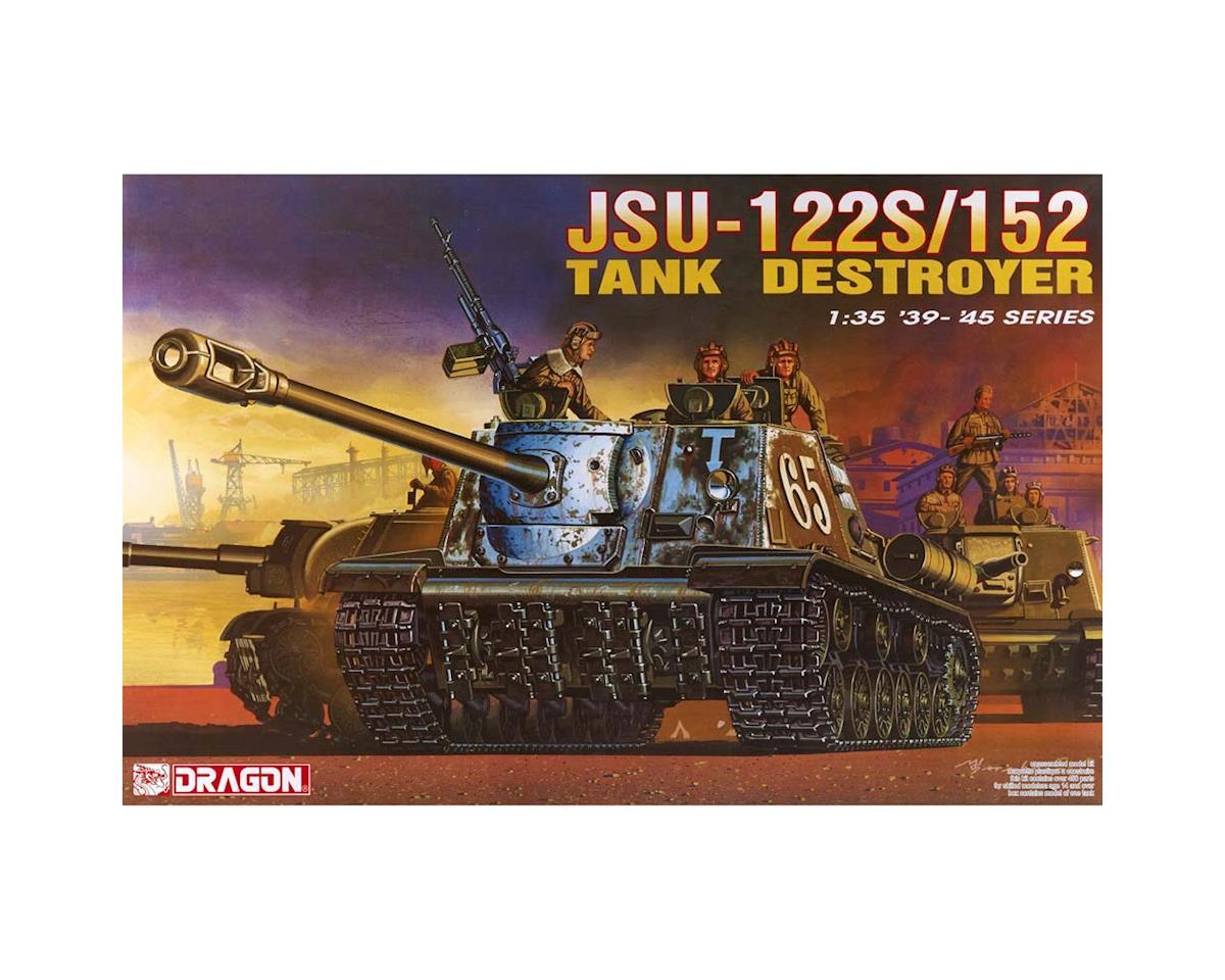 6047 1/35 JSU-122S/152 Tank Destroyer by Dragon Models