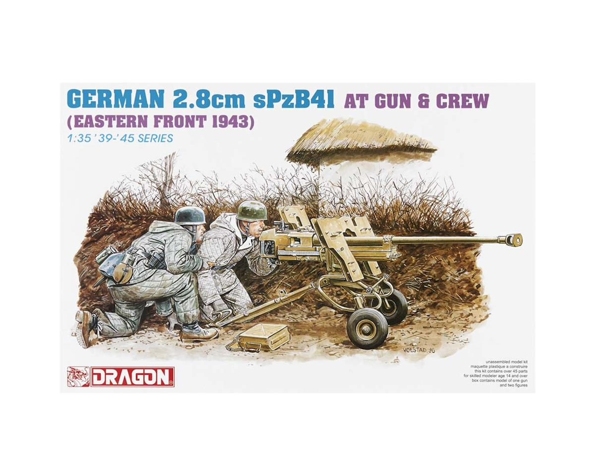 Dragon Models 6056 1/35 German 2.8cm sPzB41 AT Gun w/Crew