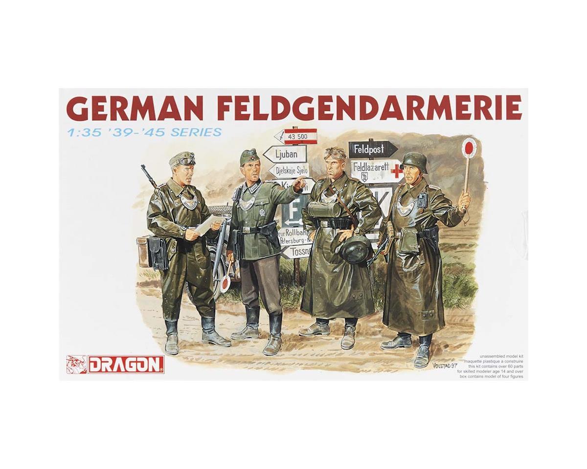 Dragon Models  1/35 German Feldgendarmerie (4 Figures Set)