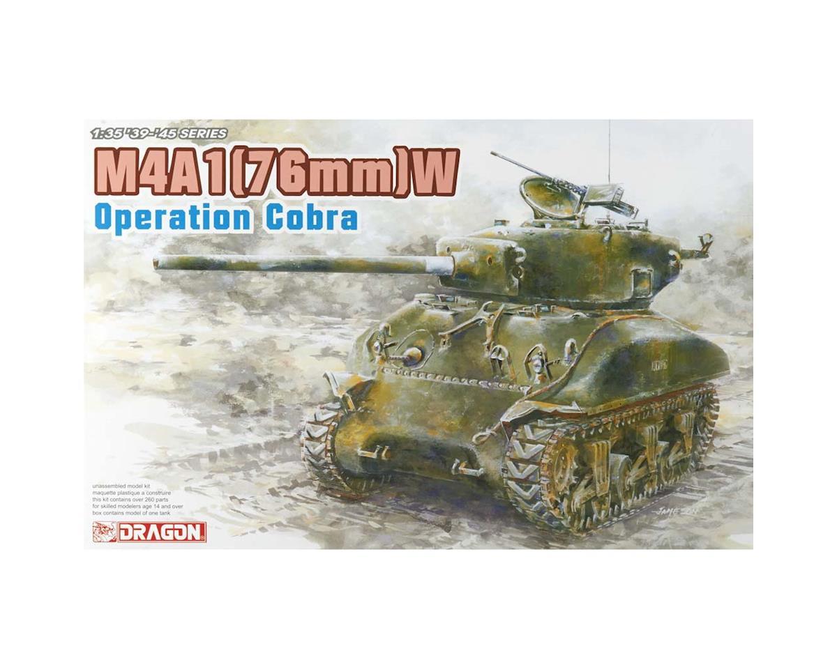 Dragon Models 6083 1/35 Sherman M4A1(76)W