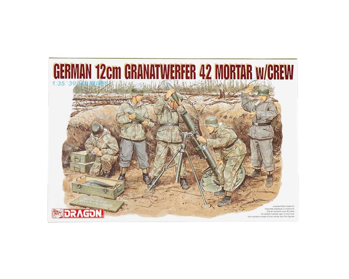 Dragon Models 6090 1/35 German 12cm Granatwerfer 42 Mortar w/Crew