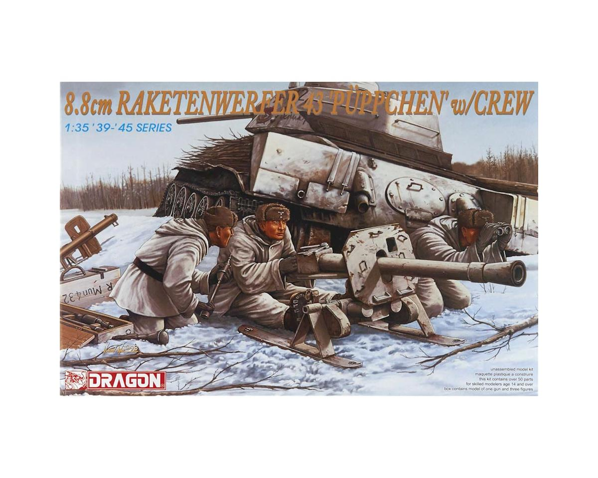 Dragon Models 6097 1/35 8.8cm Raketenwerfer 43 Puppchen w/Crew
