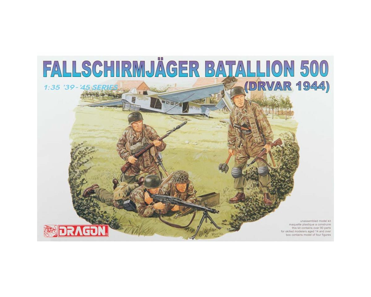 6145 1/35 SS Fallschirmjager Batalion 500 Dr by Dragon Models