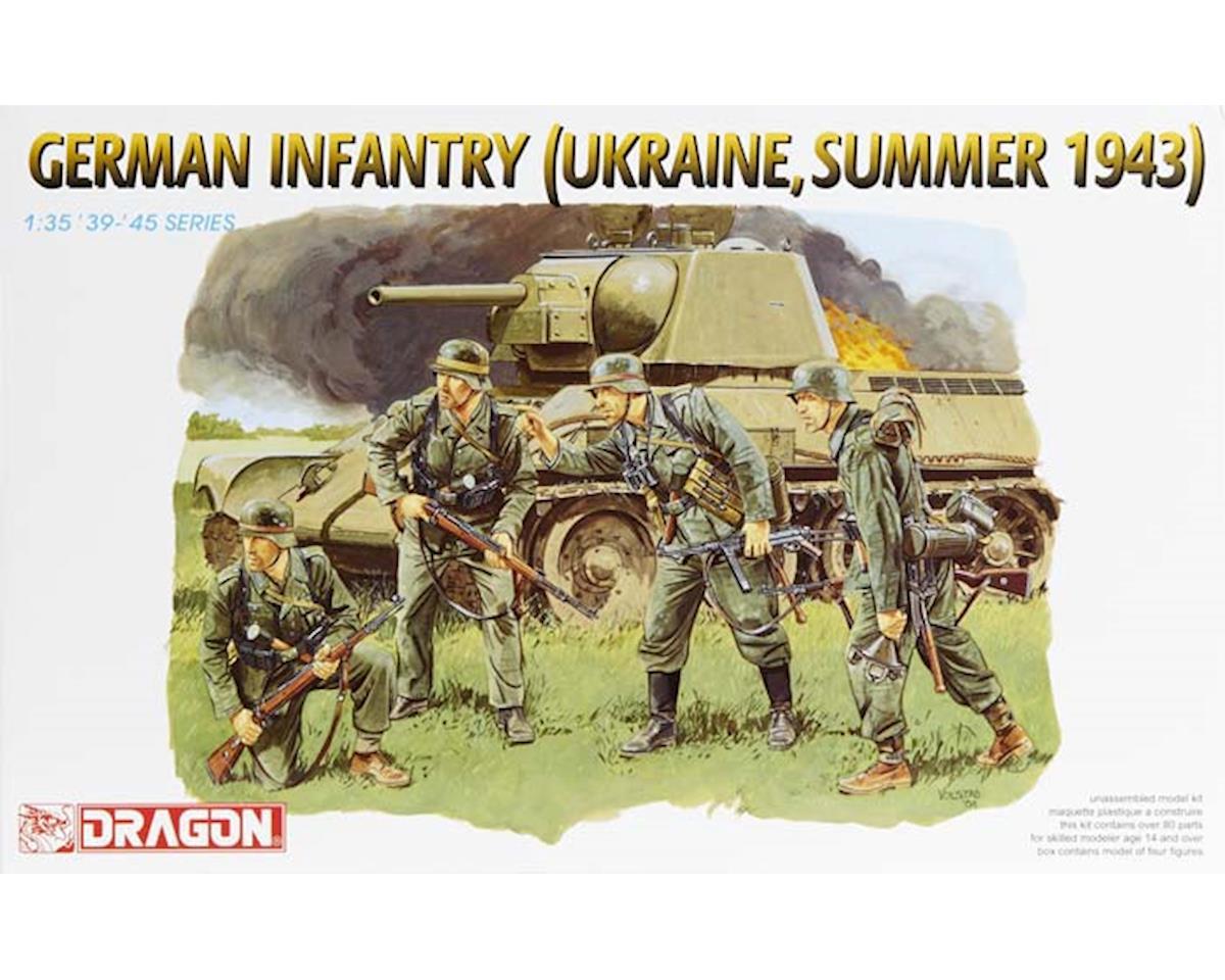 Dragon Models 6153 1/35 German Infantry Ukraine Summer 1943