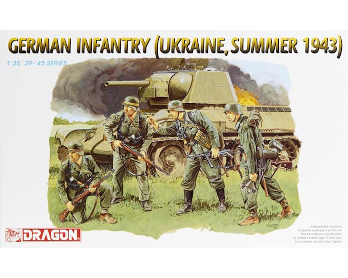 Dragon Models 6153 1/35 German Infantry Ukraine Summer 1943
