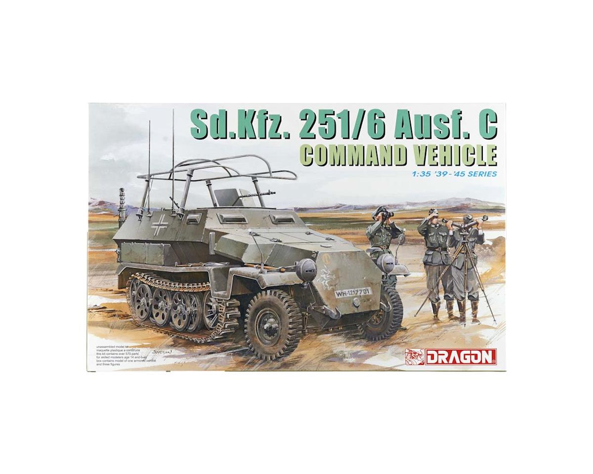 Dragon Models 6206 1/35 Sd.Kfz.251/6 C Command Vehicle