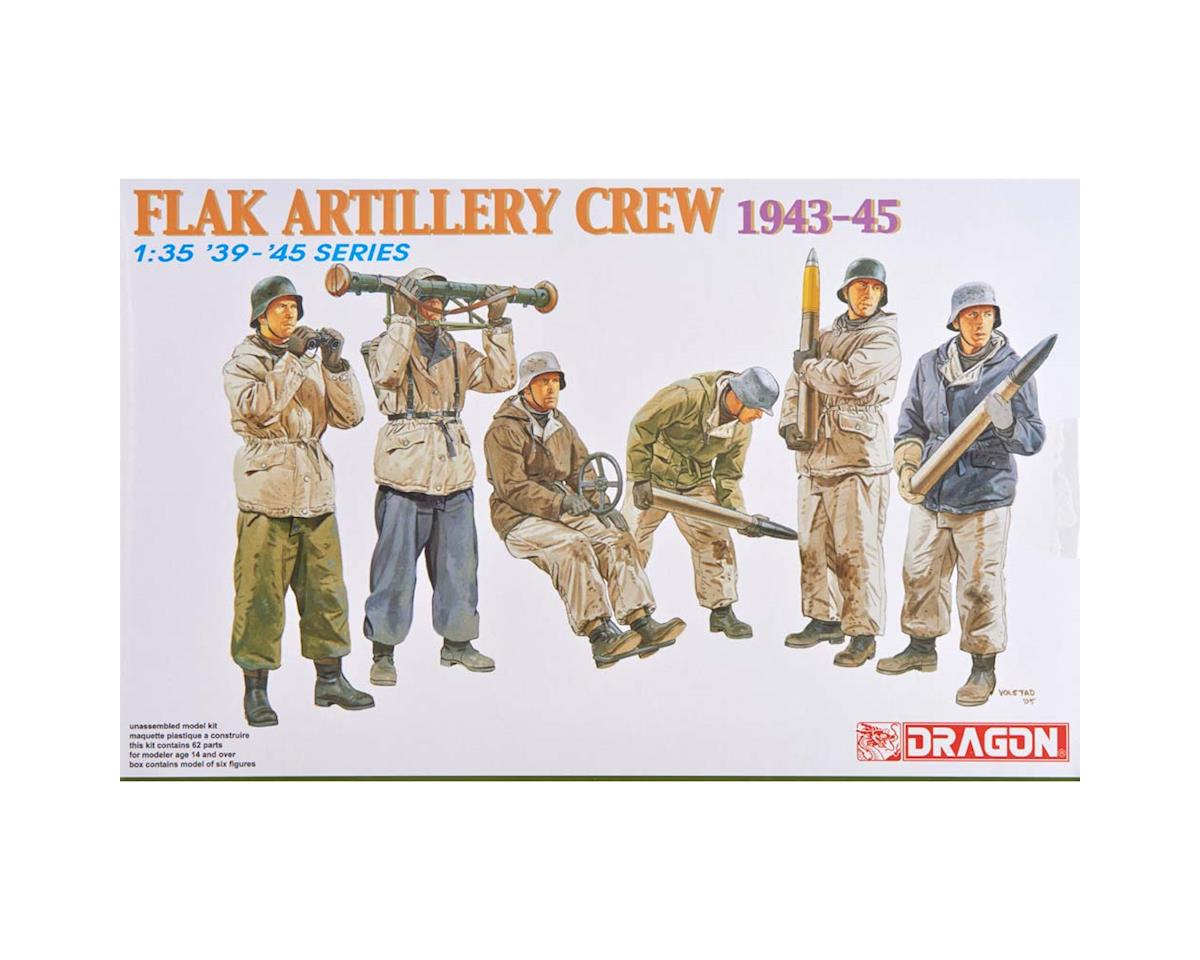 Dragon Models 6275 1/35 Flak Artillery Crew Winter 1943-45