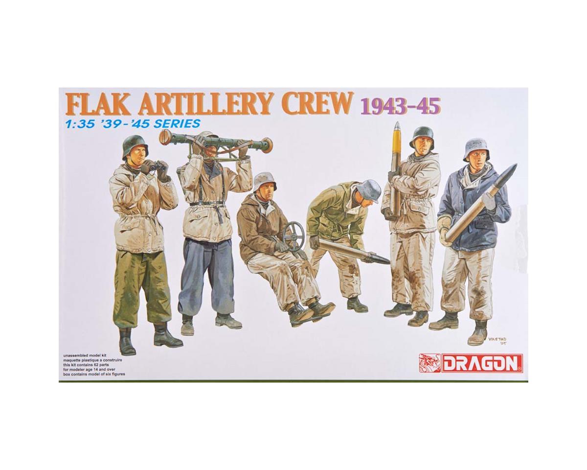 Dragon Models 6275 1/35 Flak Artillery Crew Winter 1943-45