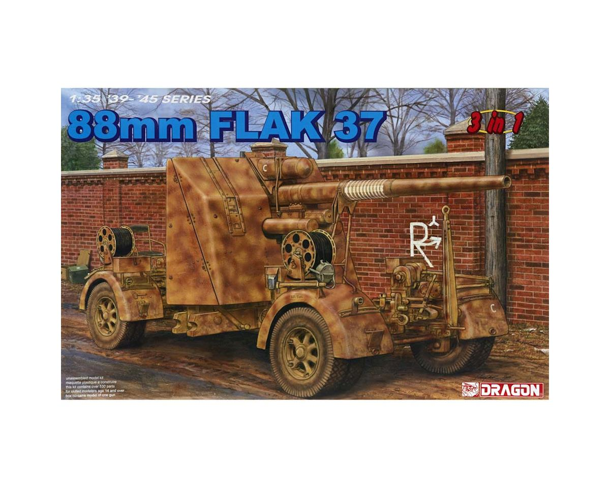 Dragon Models 6287 1/35 88mm Flak 37 (3 In 1)