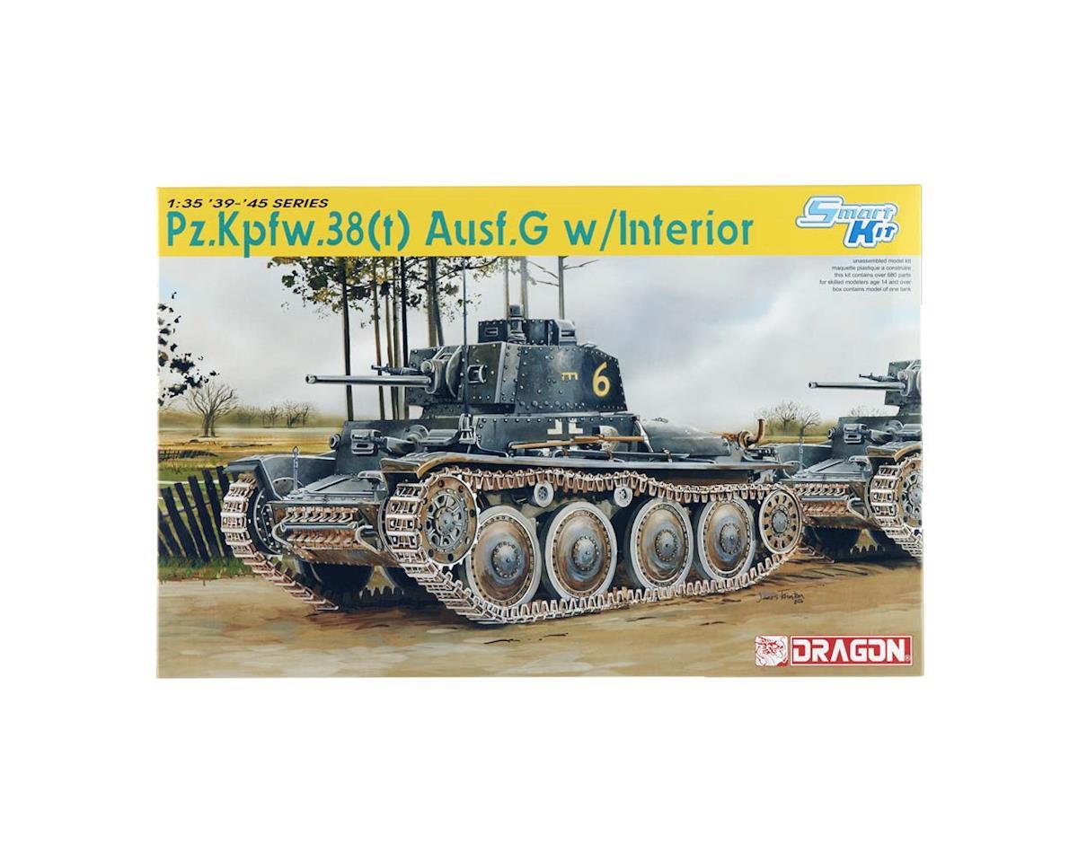 Dragon Models 6290 1/35 Pz.Kpfw.38(t) Ausf.G w/Interior Smart Kit
