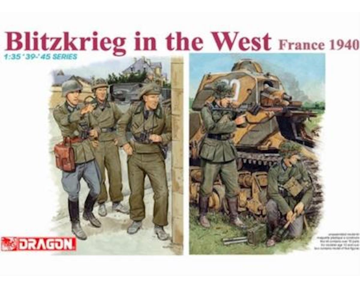 1/35 German Soldiers Blitzkrieg In The West France