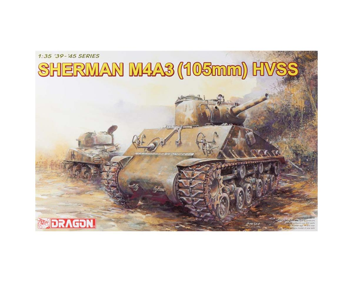 Dragon Models 6354 1/35 Sherman M4A3 W/105mm Howitzer Gun