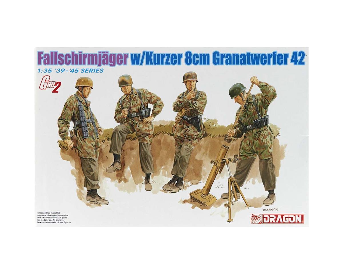 Dragon Models 6373 1/35 Fallschirmjager 8cm Gr.W.42 Mortar Team (4)