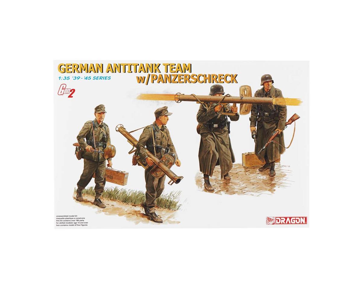 6374 1/35 German Antitank Team w/Panzerschreck 1944-45 by Dragon Models