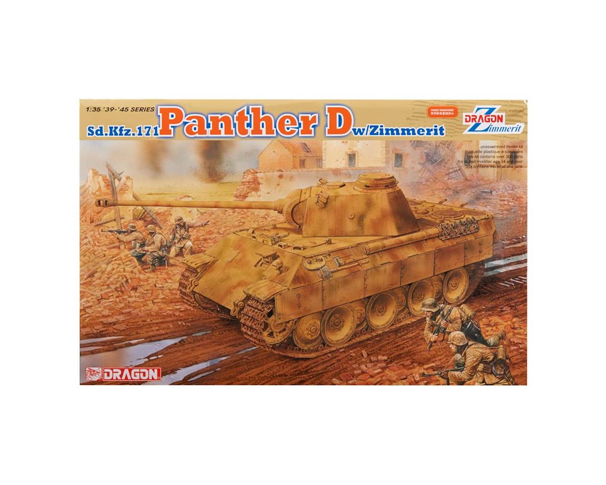 Dragon Models 6428 1/35 Panther Ausf.D w/Zimmerit Coating
