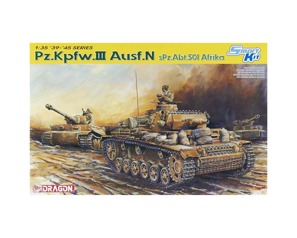 Dragon Models 6431 1/35 Pz.KPfw.III Ausf.N s.Pz.Abt.501 Africa