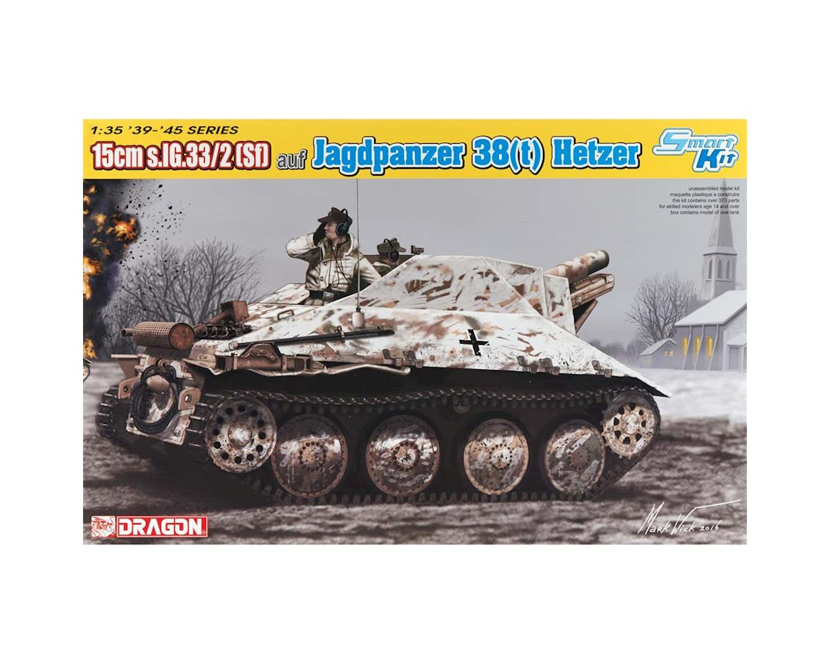 Dragon Models 1/35 15cm s.IG.33/2(Sf) auf Jagdpanzer 38(t)
