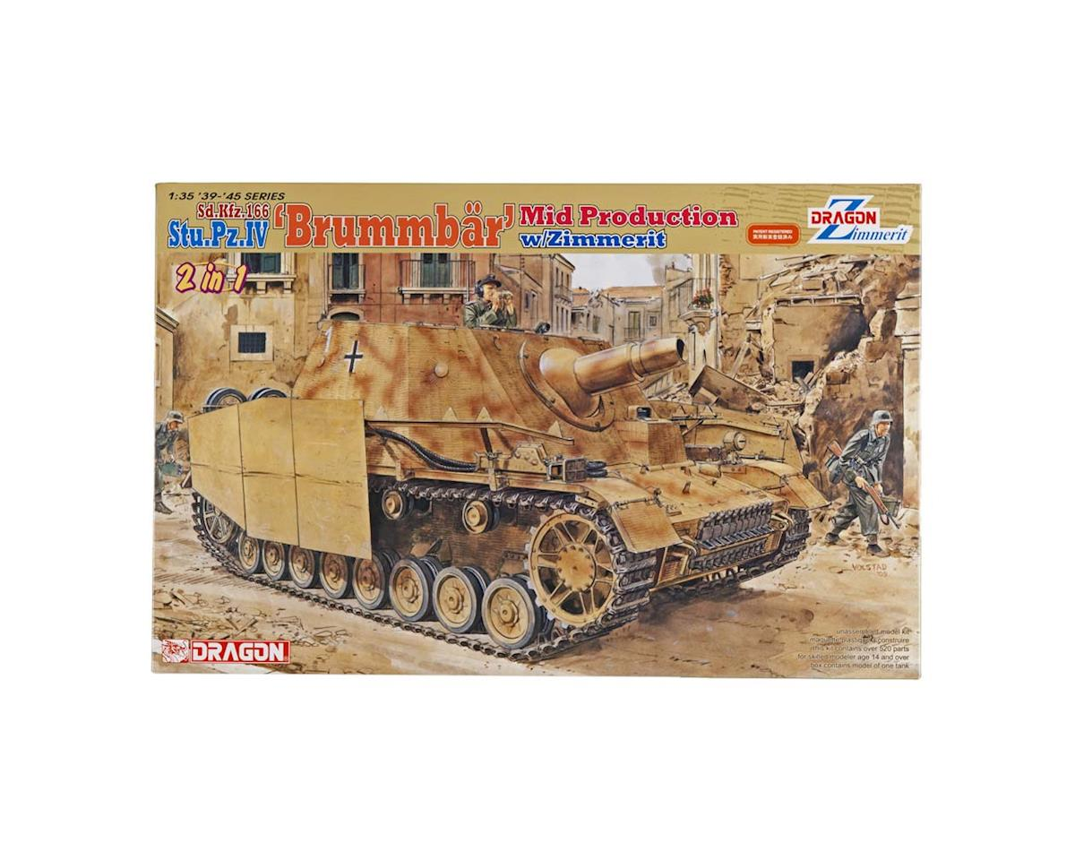6500 1/35 Stu.Pz.IV Brummbar Mid-Production/Zimmerit by Dragon Models