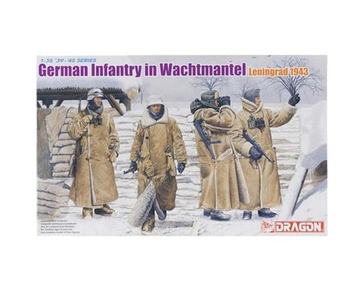 1/35 German Infantry in Wachtmantel Leningrad 1943