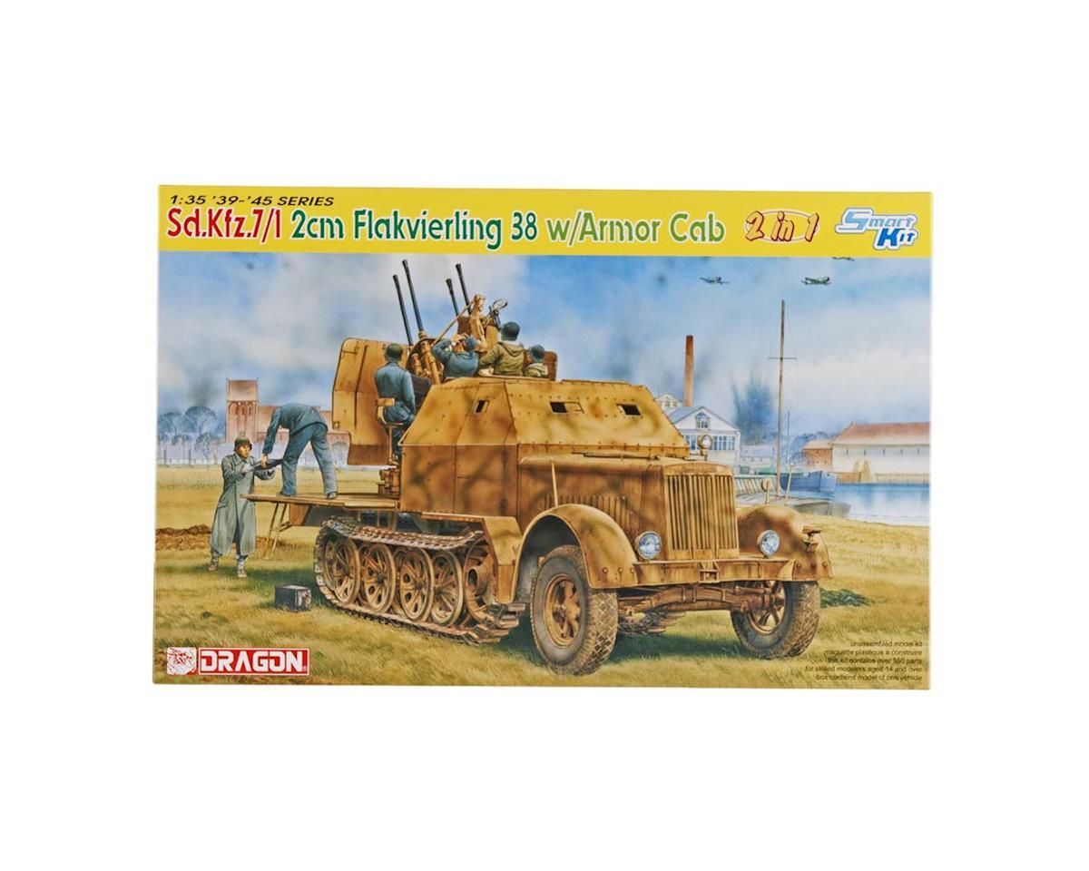 Dragon Models 6533 1/35 Sd.Kfz. 7/1 2cm Flakvierling 38 w/Armor Cab