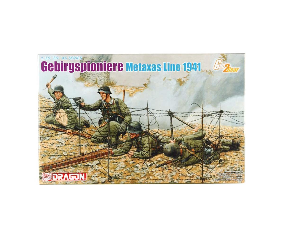 Dragon Models 1/35 Gebirgspioniere Metaxas Line 1941