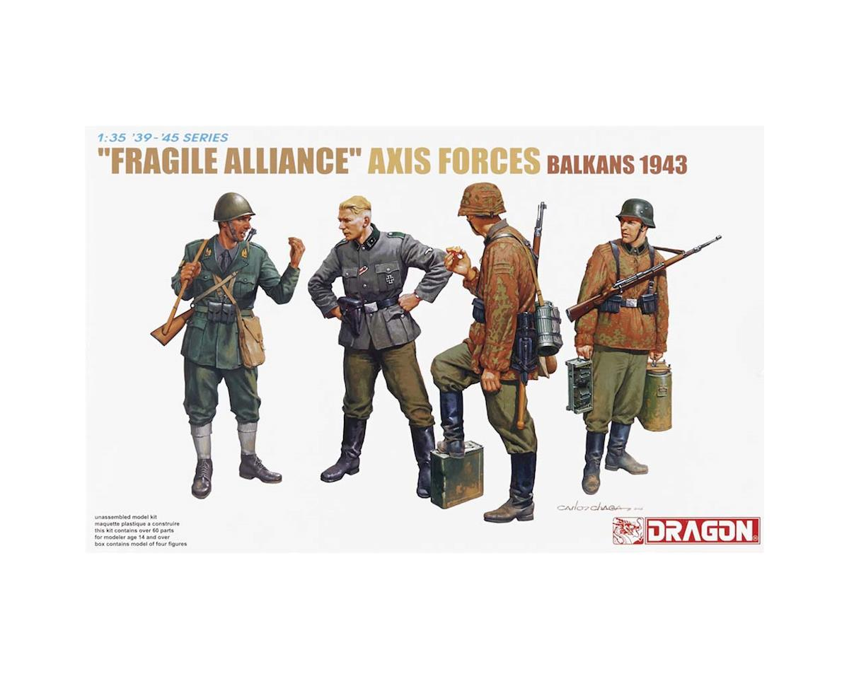 Dragon Models 6563 1/35 Fragile Alliance Axis Forces Balkan 1943