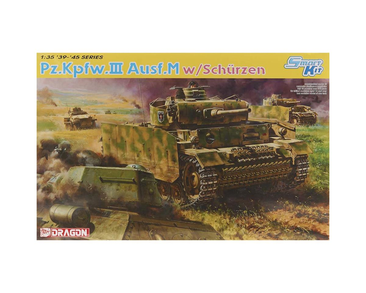 Dragon Models 6604 1/35 Pz.Kpfw.III Ausf.M w/Schurzen Kursk 1943