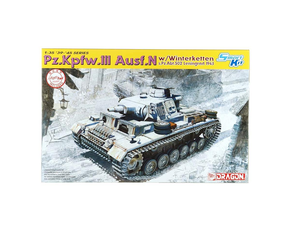 Dragon Models 6606 1/35 Pz.Kpfw.III Ausf.N w/Winterketten