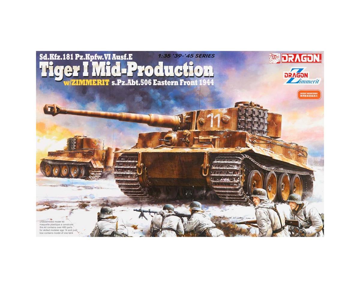 Dragon Models 6624 1/35 Sd.Kfz.181 Pz.Kpfw.VI Ausf.E Tiger I
