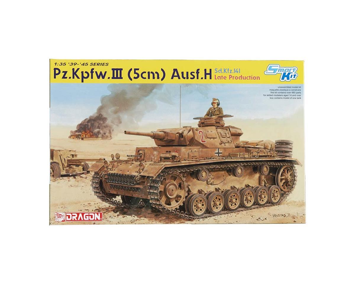 Dragon Models 6642 1/35 Pz.Kpfw.III Ausf.H Sd.Kfz.141 Late Smart