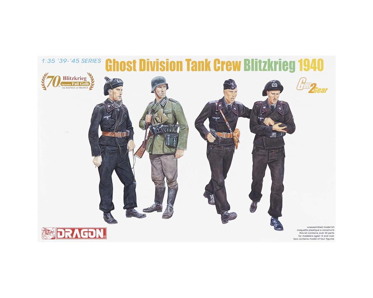 Dragon Models 6654 1/35 Ghost Division Tank Crew Blitzkrieg 1940