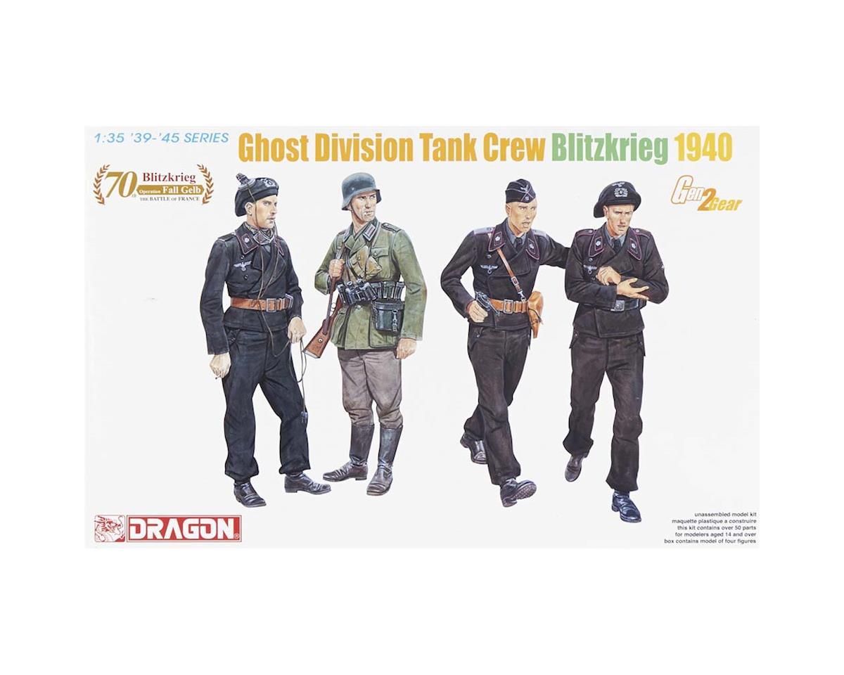 Dragon Models 6654 1/35 Ghost Division Tank Crew Blitzkrieg 1940