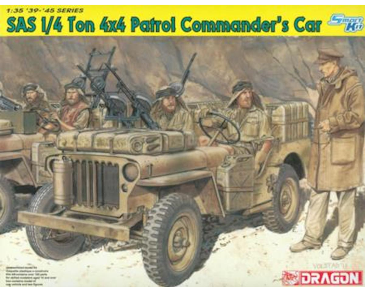 Dragon Models 1/35 SAS 1/4 Ton 4x4 Patrol Commander Car