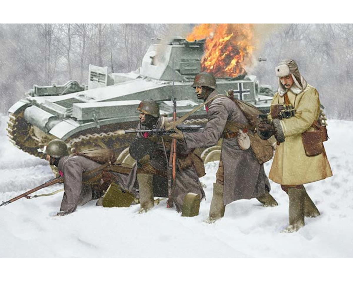 Dragon Models  1/35 Soviet Infantry Winter 1941 (4 Figures Set)