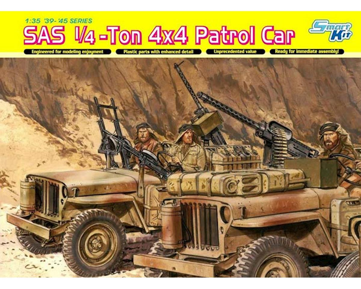 Dragon Models 6745 1/35 SAS 1/4-Ton 4x4 Patrol Car w/Crew Smart Kit