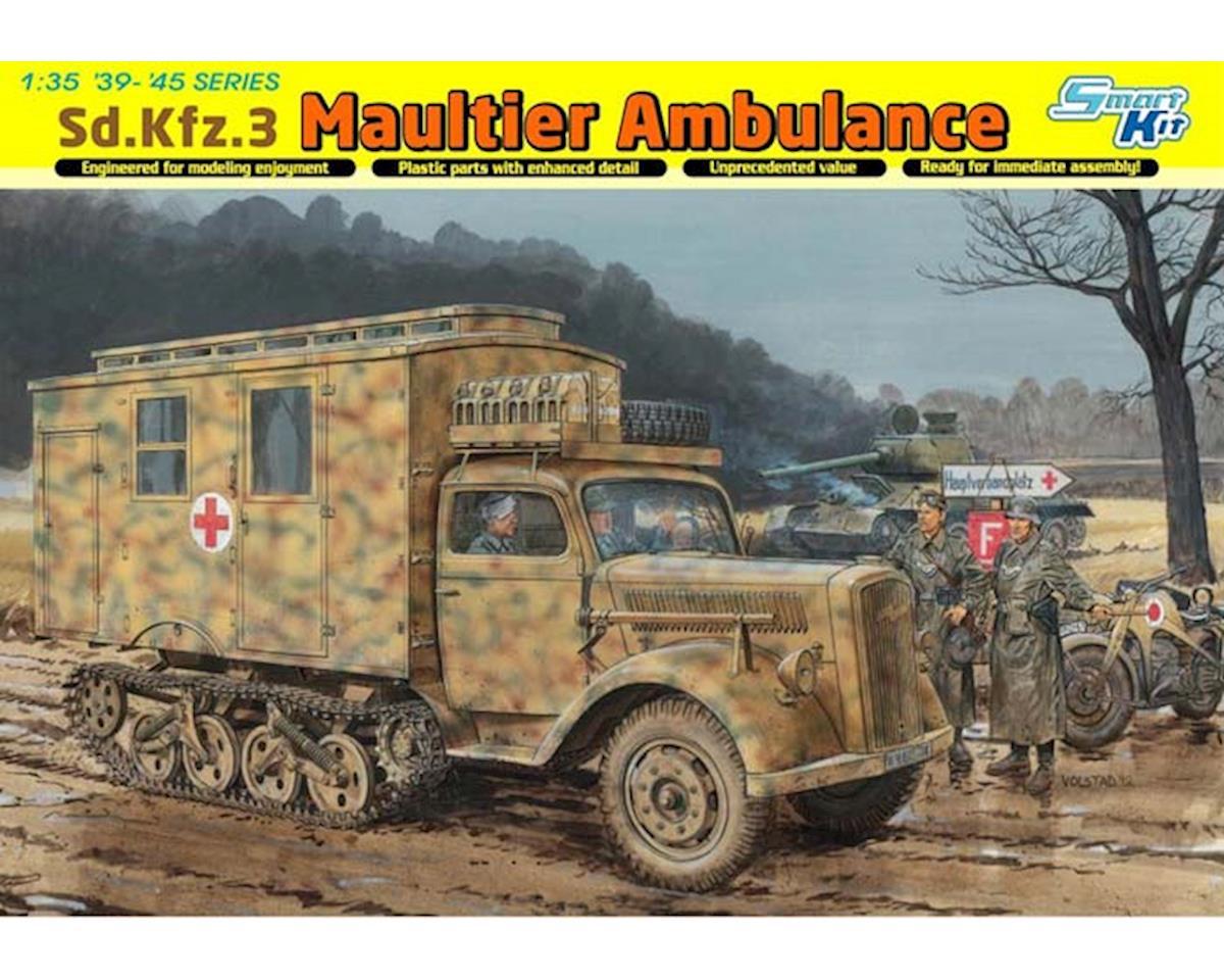 Dragon Models 6766 1/35 Sd.Kfz.3 Maultier Ambulance Smart Kit