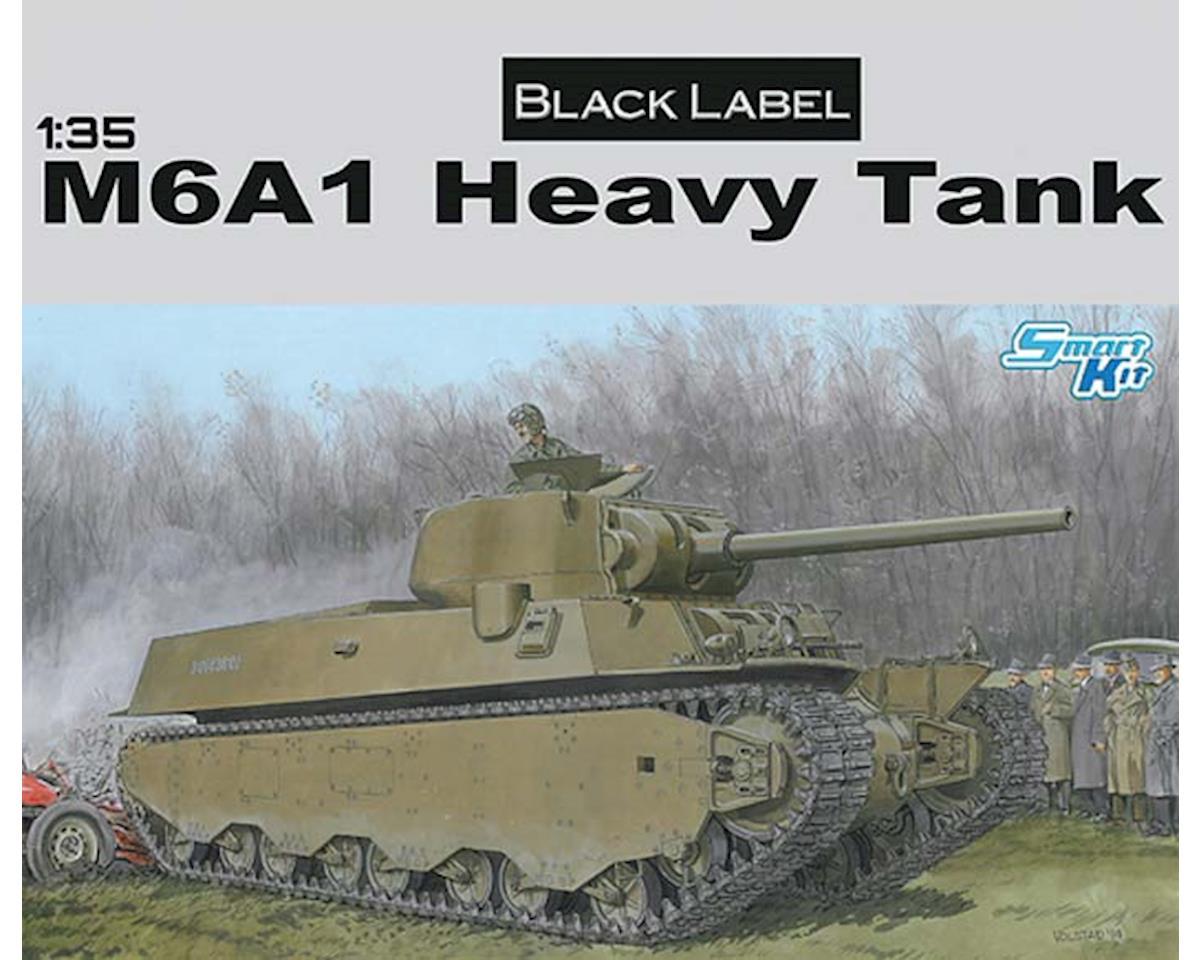 Dragon Models 6789 1/35 M6A1 Heavy Tank Black Label Series