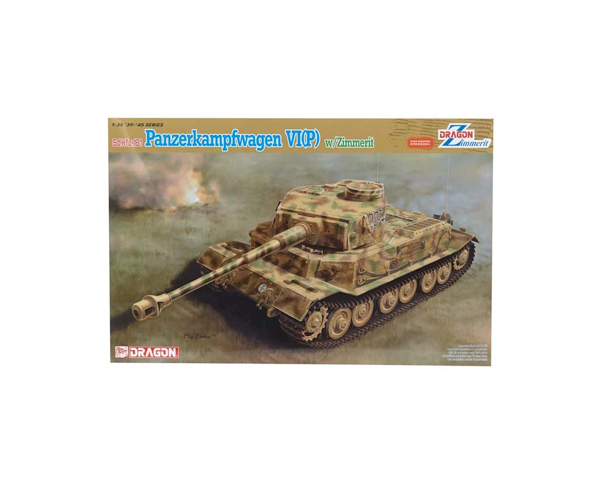 Dragon Models 6797 1/35 Panzerkampfwagen VI(P) w/Zimmerit