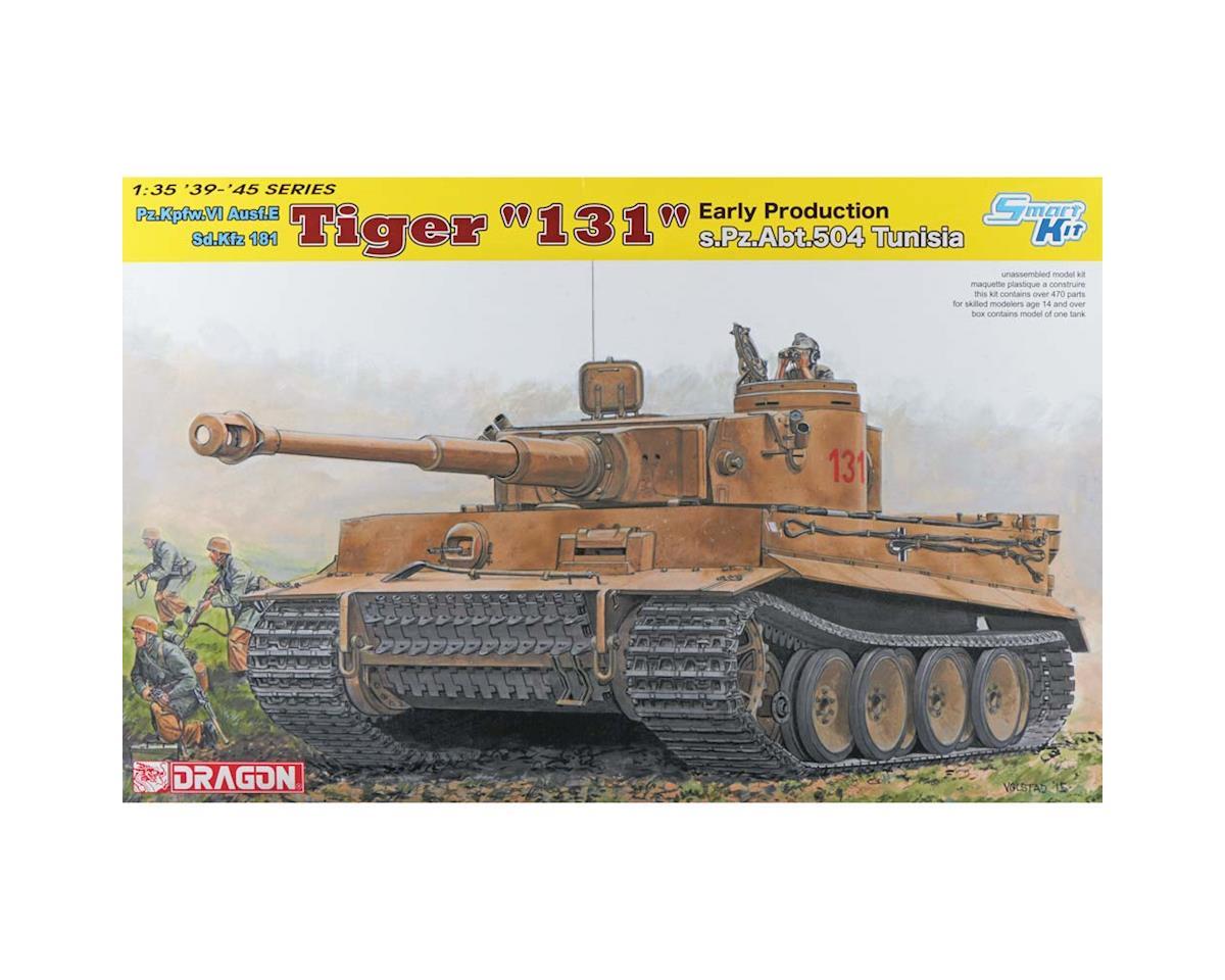 Dragon Models 6820 1/35 Tiger I 131 s.Pz.Abt.504 Tunisia Smart Kit