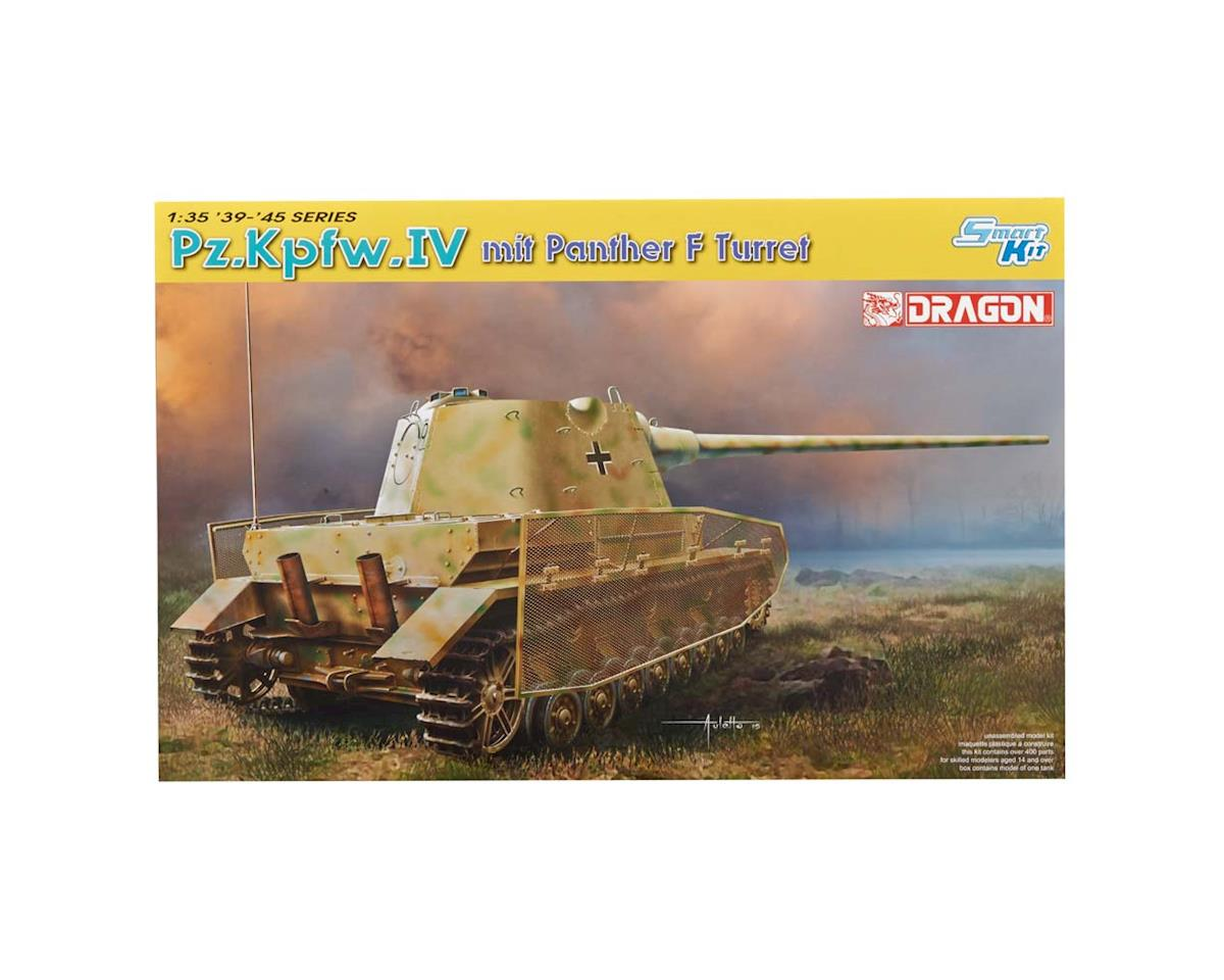 Dragon Models 1/35 Pz.Kpfw.IV mit Panther F Turret
