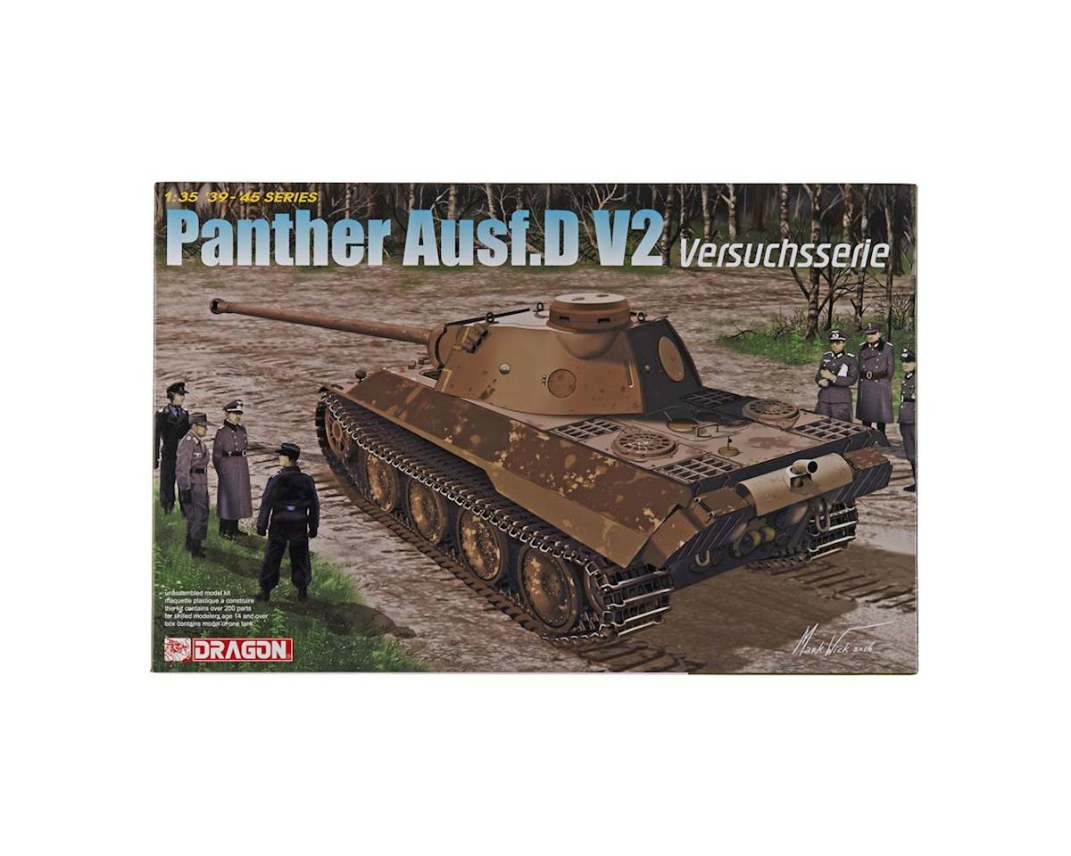 6830 1/35 Panther Ausf.D V2 Versuchsserie Smart Kit by Dragon Models