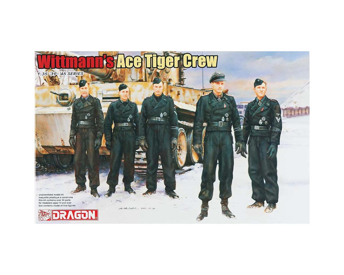 Dragon Models 1/35 Wittmann's Ace Tiger Crew (5)