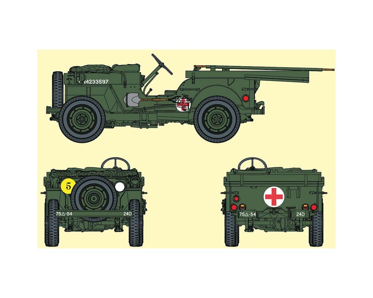 Dragon Models 6832 1/35 1/4-Ton 4x4 Ambulance Truck w/6 GI Figs