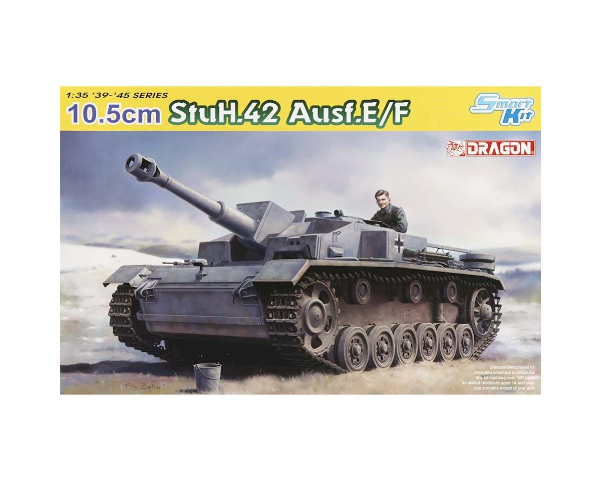 Dragon Models 6834 1/35 10.5cm StuH.42 Ausf.E/F Smart Kit