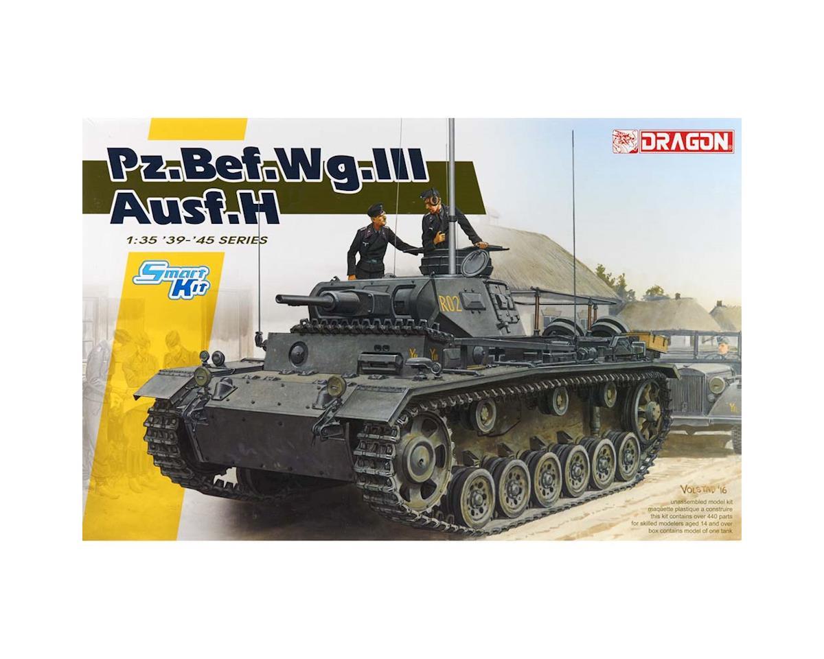 Dragon Models 1/35 Pz.Bef.Wg.III Ausf.H Smart Kit
